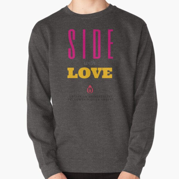 Side with Love Pullover Sweatshirt