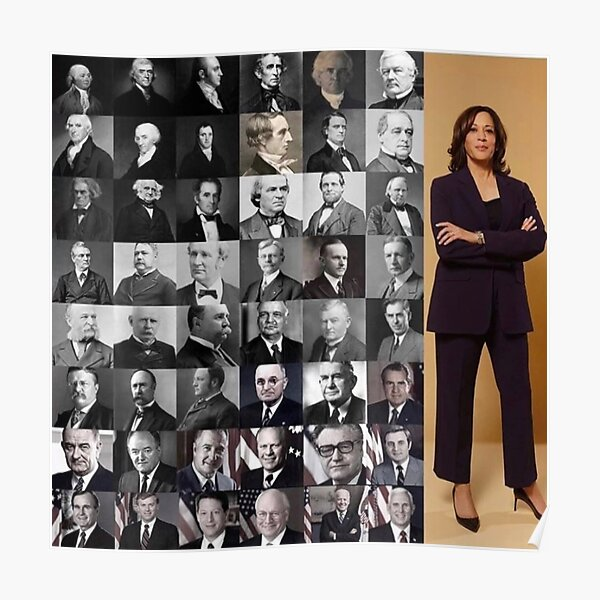 The Walking Hope, Madam Vice President - Kamala Harris Poster