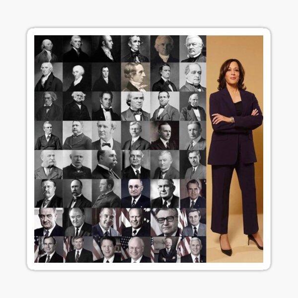 The Walking Hope, Madam Vice President - Kamala Harris Sticker