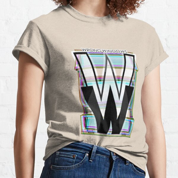 Wrong Windows Double-W Logo Variant #4 (RGB Casement/Pinched) Classic T-Shirt