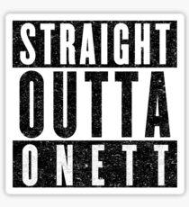 Onett Represent! Sticker