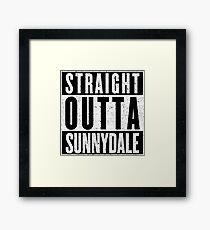Sunnydale Represent! Framed Print