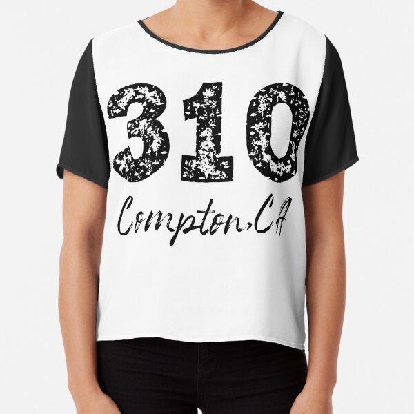 310 Compton California Area Code, 310 Area Code, Compton California Chiffon Top