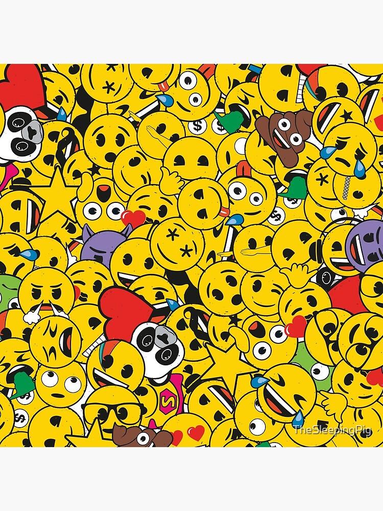 emoji overload by TheSleepingPig