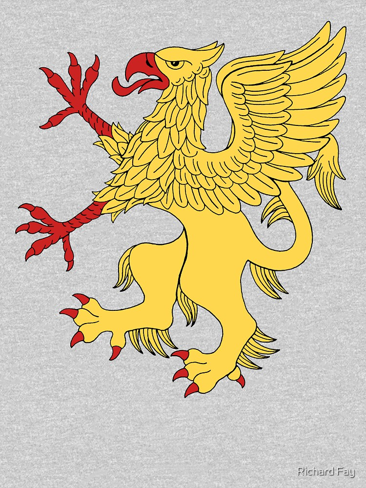 Yellow Griffin by RHFay