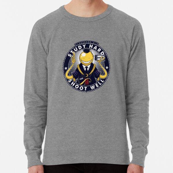 Assassination Classroom Study hard Sweatshirt léger