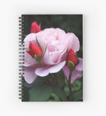 Rose and Buds Spiral Notebook