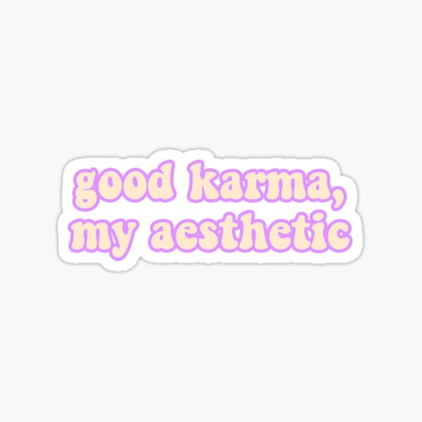My Aesthetic Sticker