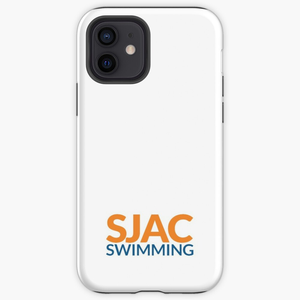 SJAC White iPhone Case & Cover