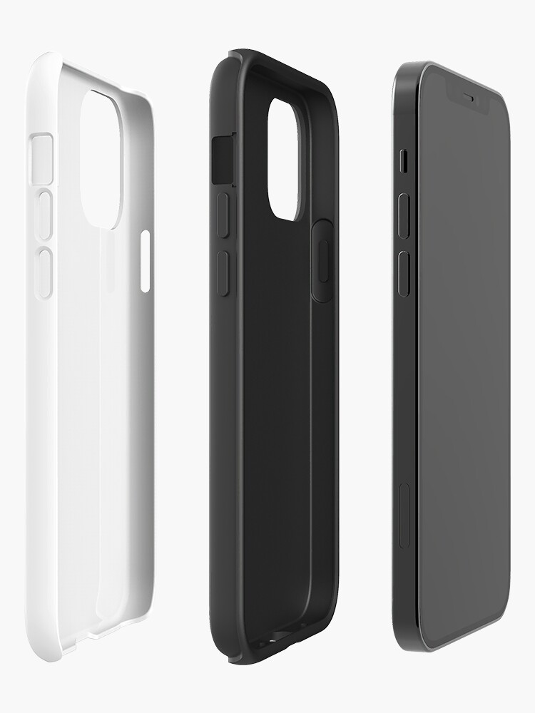 Alternate view of SJAC White iPhone Case & Cover