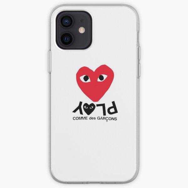 Comme Des Garcons Play iPhone Soft Case