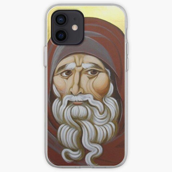 Byzantine icon of Anthony iPhone Soft Case