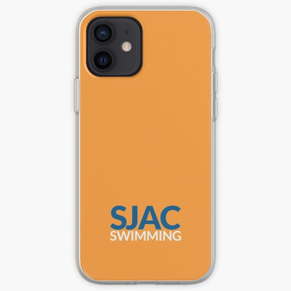 SJAC Orange iPhone Soft Case