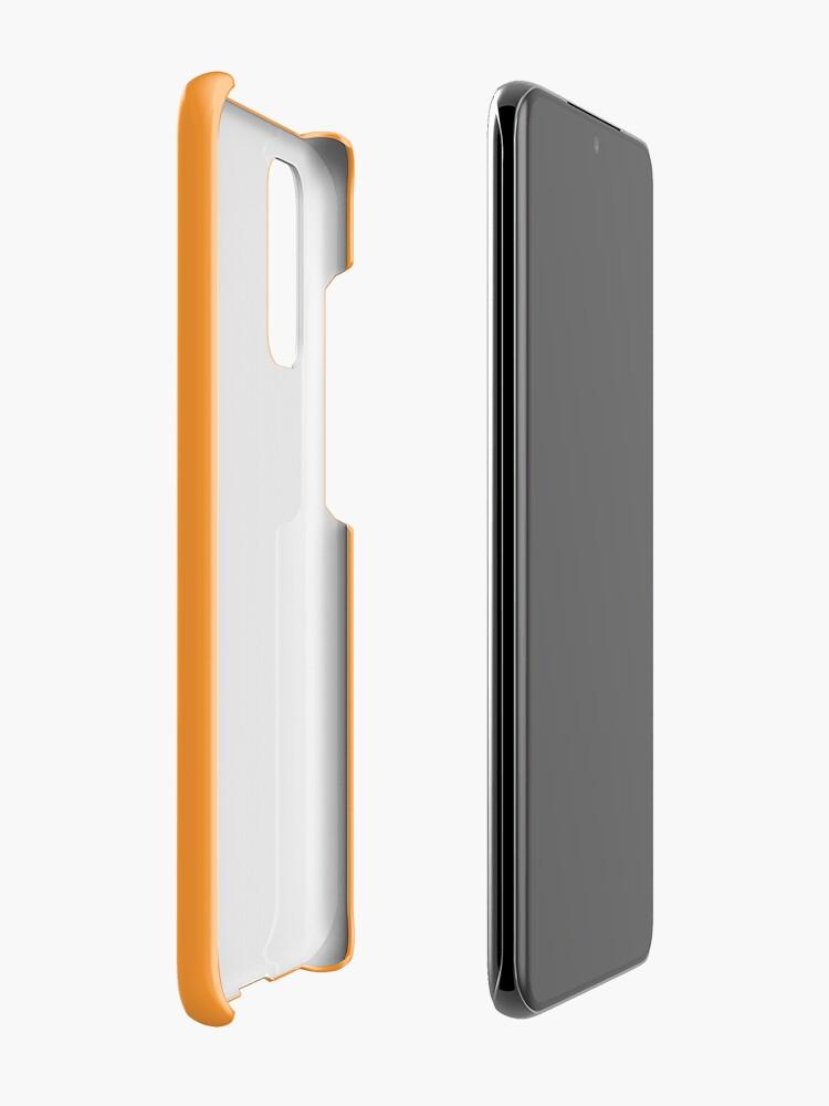 Alternate view of SJAC Orange Case & Skin for Samsung Galaxy