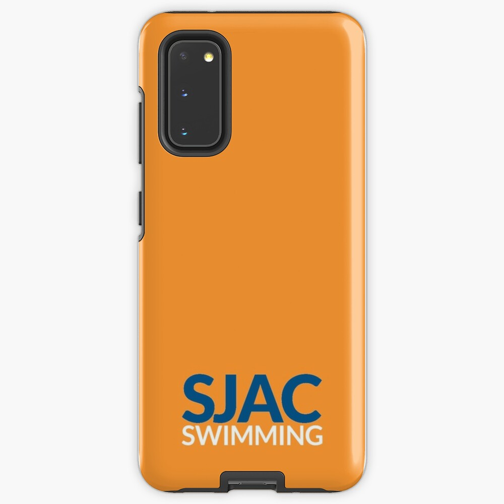 SJAC Orange Case & Skin for Samsung Galaxy