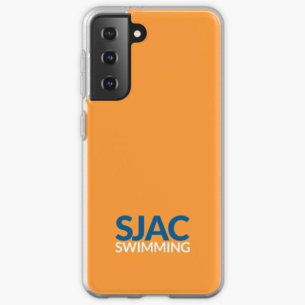 SJAC Orange Samsung Galaxy Soft Case