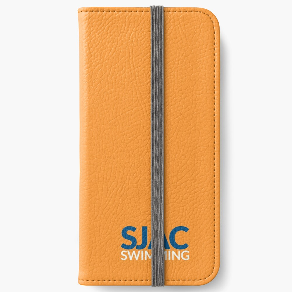 SJAC Orange iPhone Wallet
