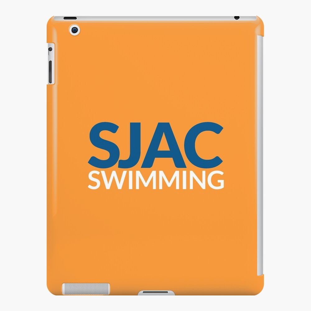 SJAC Orange iPad Case & Skin