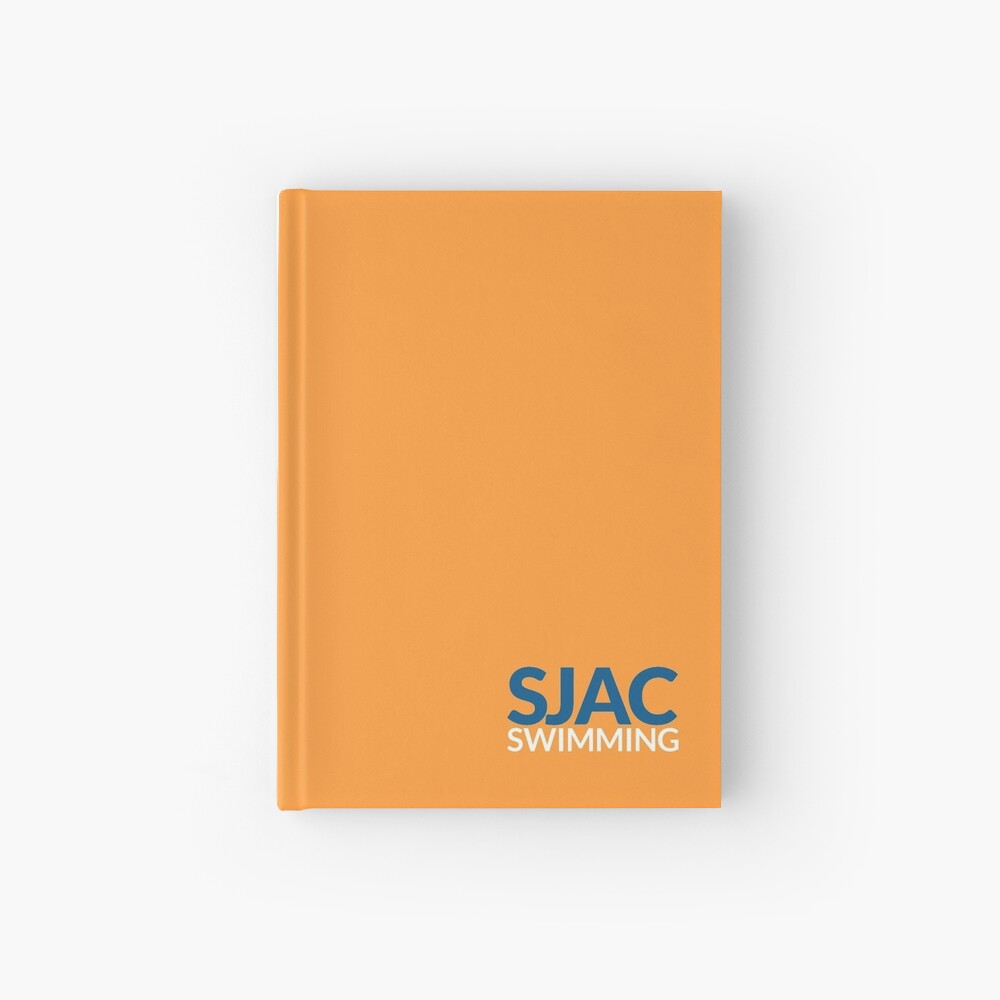 SJAC Orange Hardcover Journal