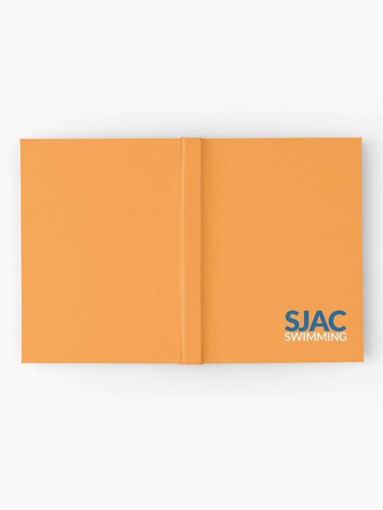 Alternate view of SJAC Orange Hardcover Journal