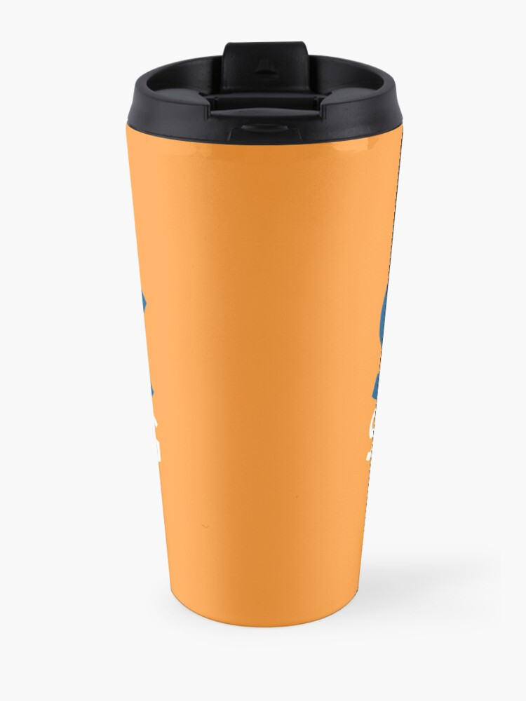 Alternate view of SJAC Orange Travel Mug