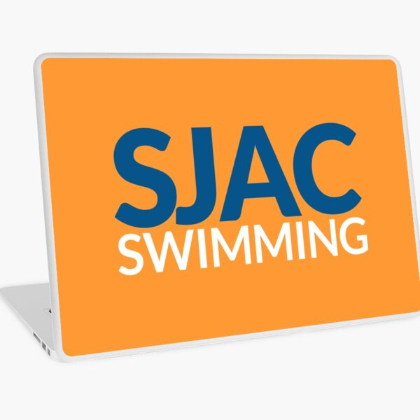 SJAC Orange Laptop Skin