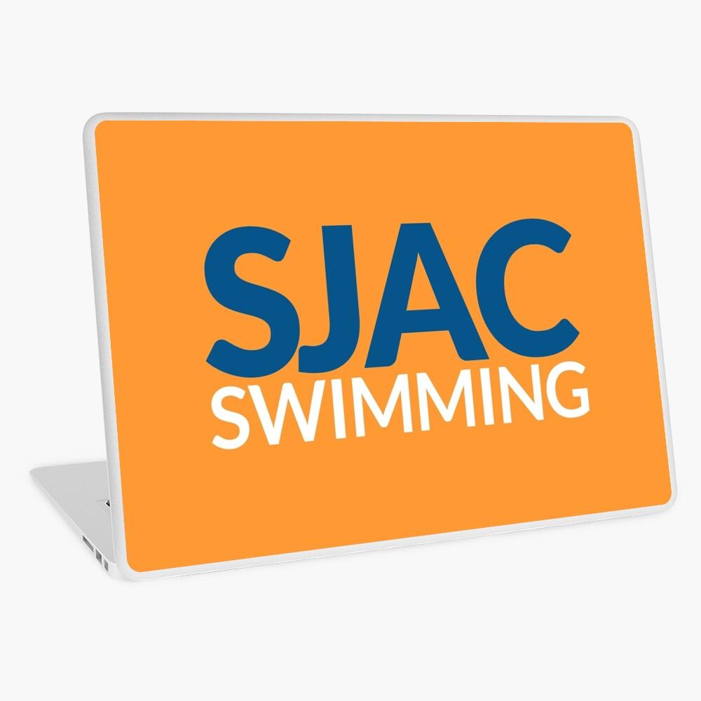 SJAC Orange Laptop Skin