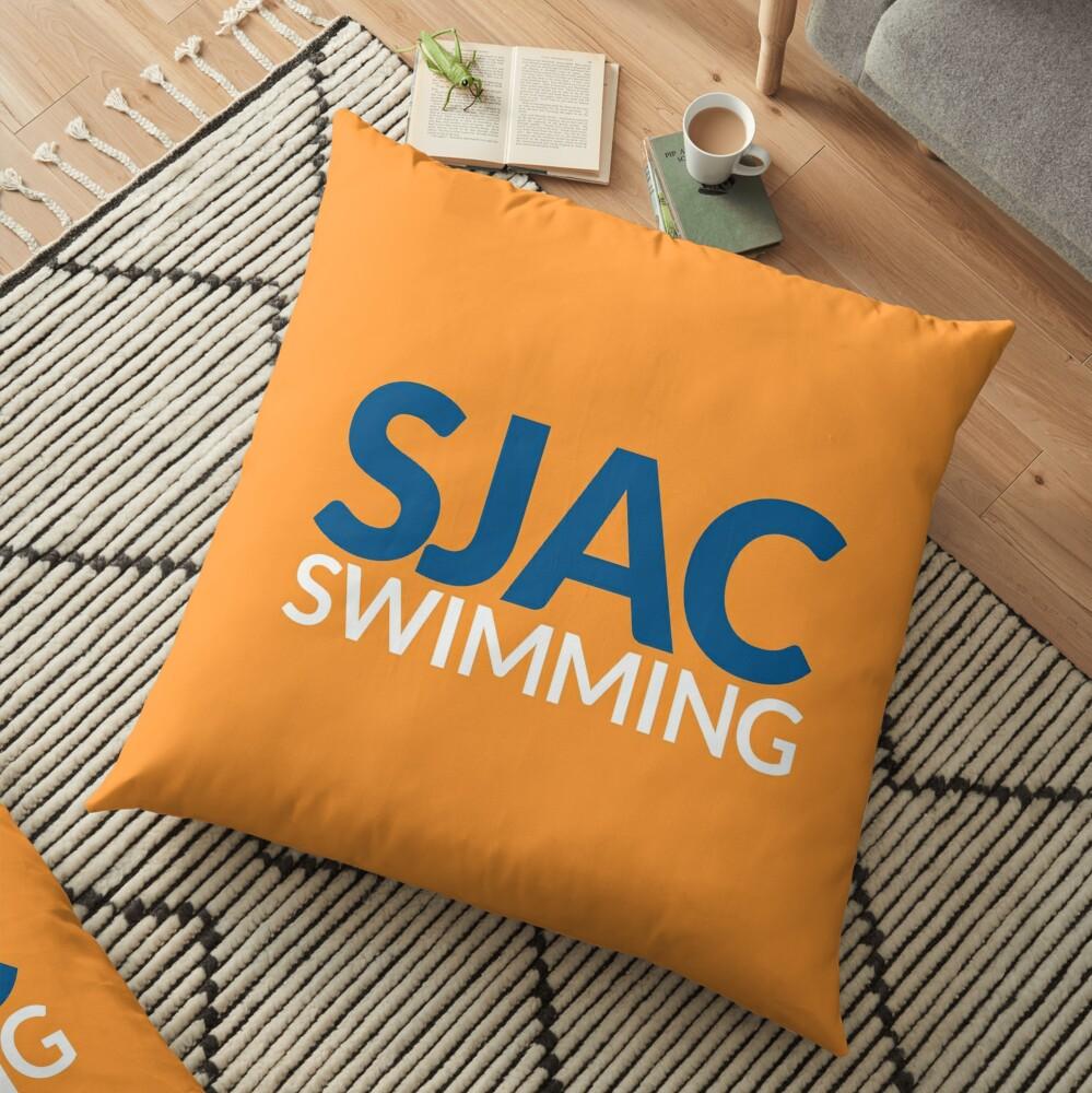 SJAC Orange Floor Pillow