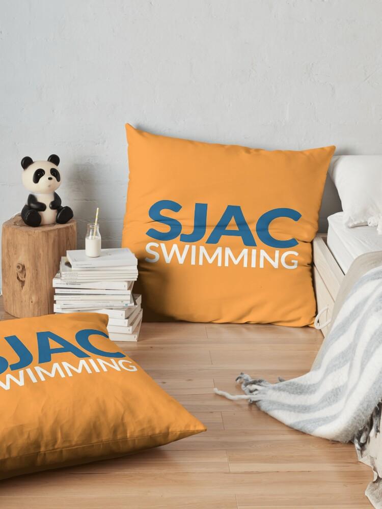 Alternate view of SJAC Orange Floor Pillow