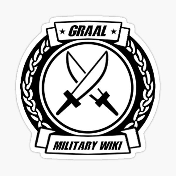 Graal Military Wiki Logo Sticker