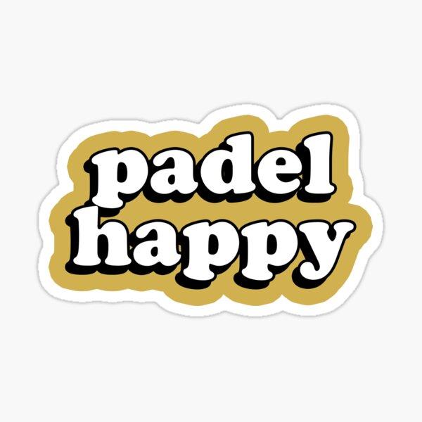pádel feliz - I Love Padel Pegatina