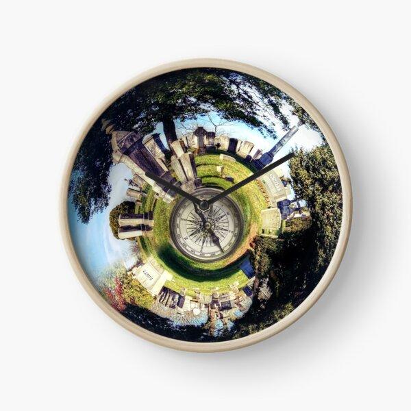 Elmwood Cemetery in Shepherdstown, WV Swirl World Clock