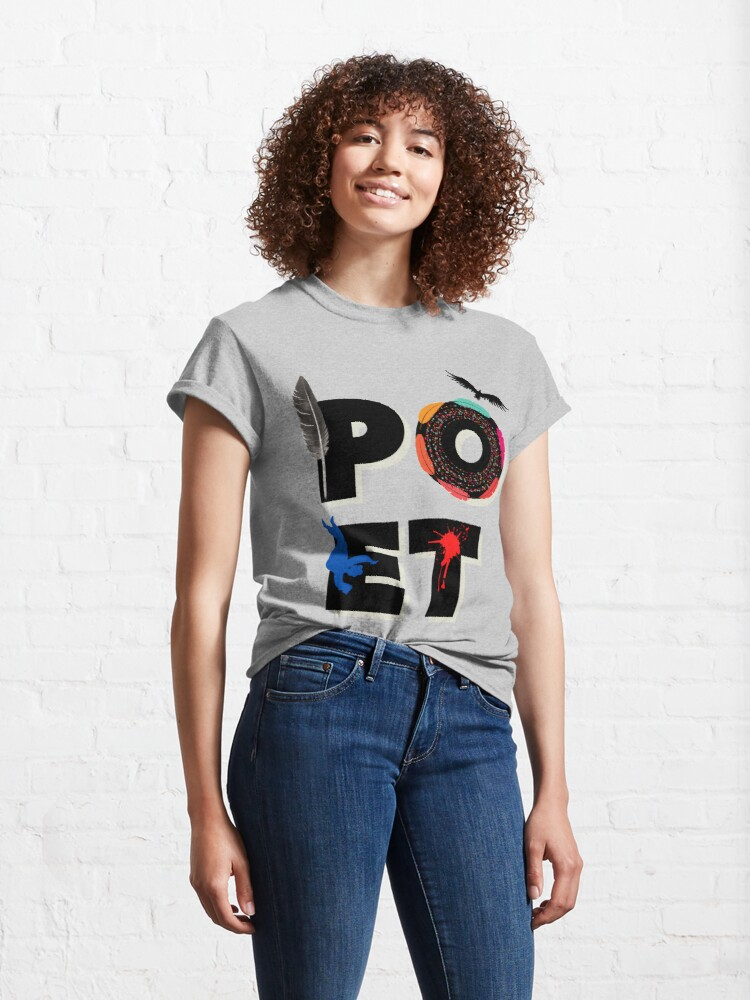 Alternate view of Poet Classic T-Shirt