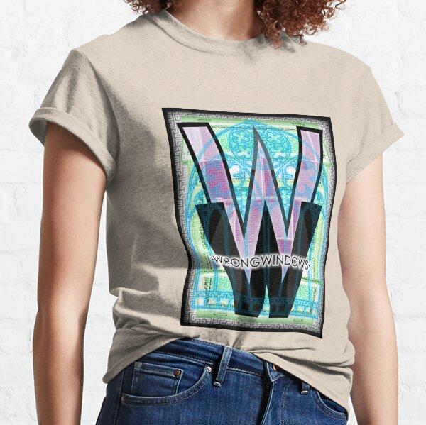Wrong Windows Double-W Logo Variant #5 (Triple-Window Maze) Classic T-Shirt