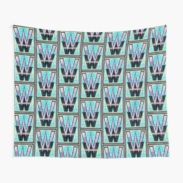 Wrong Windows Double-W Logo Variant #5 (Triple-Window Maze) Tapestry