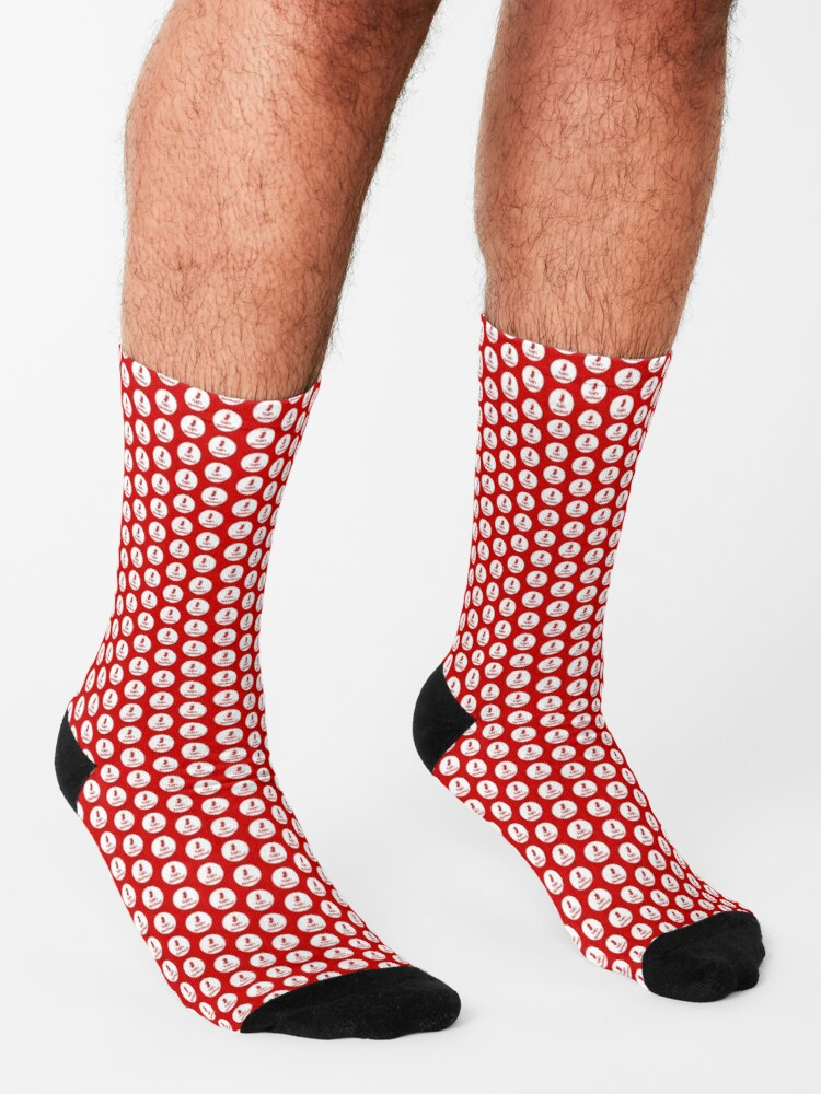 Alternate view of Todd's Christmas Socks