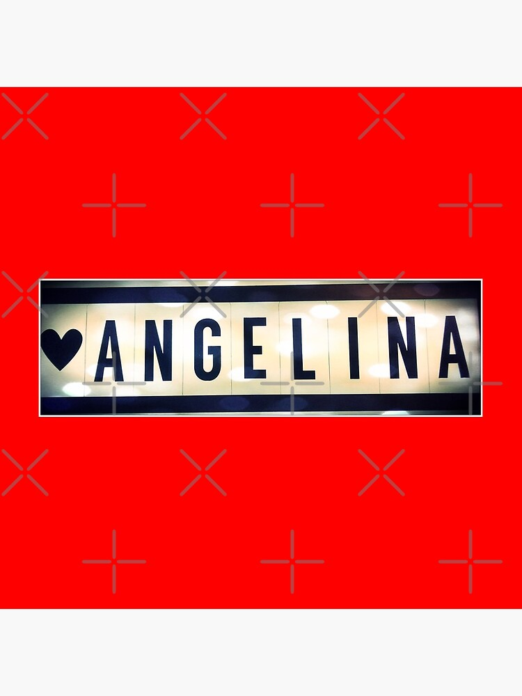 Angelina, Angelina socks, Angelina mug, Angelina sticker, Angelina magnet by PicsByMi