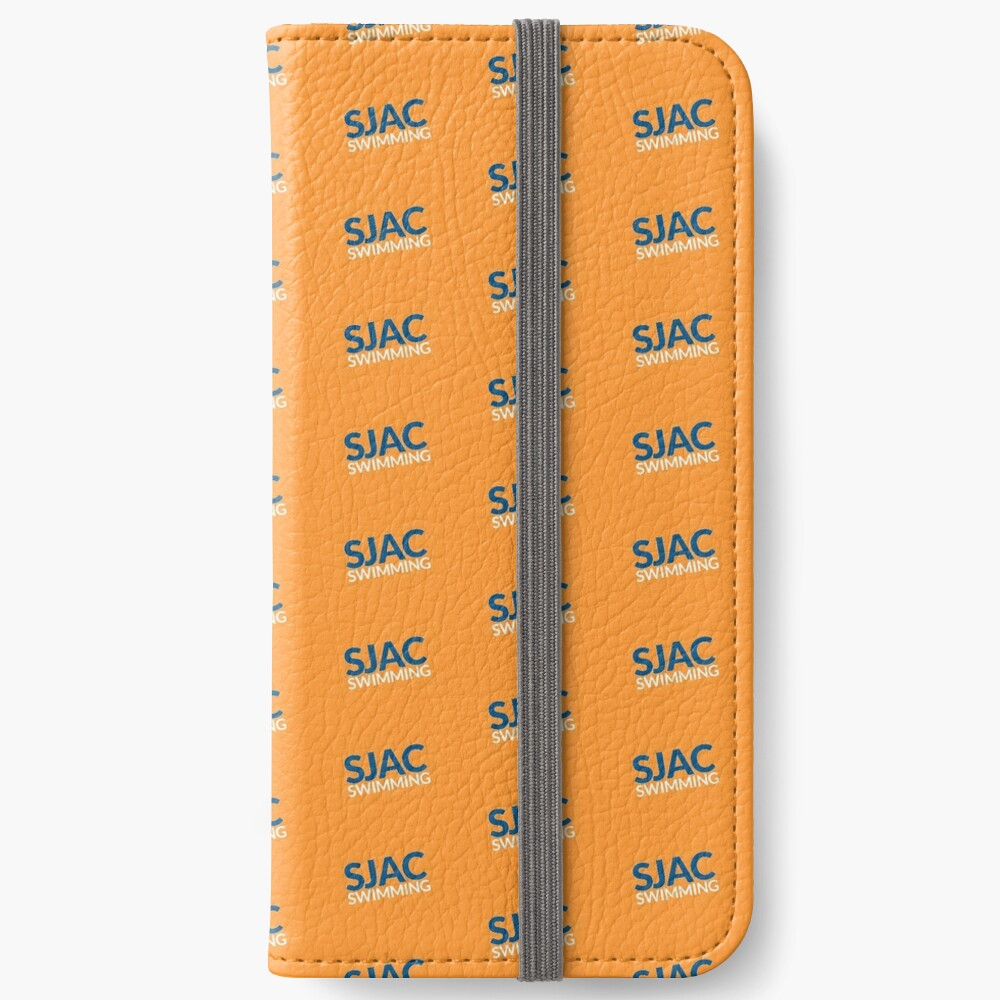 SJAC Pattern Orange iPhone Wallet