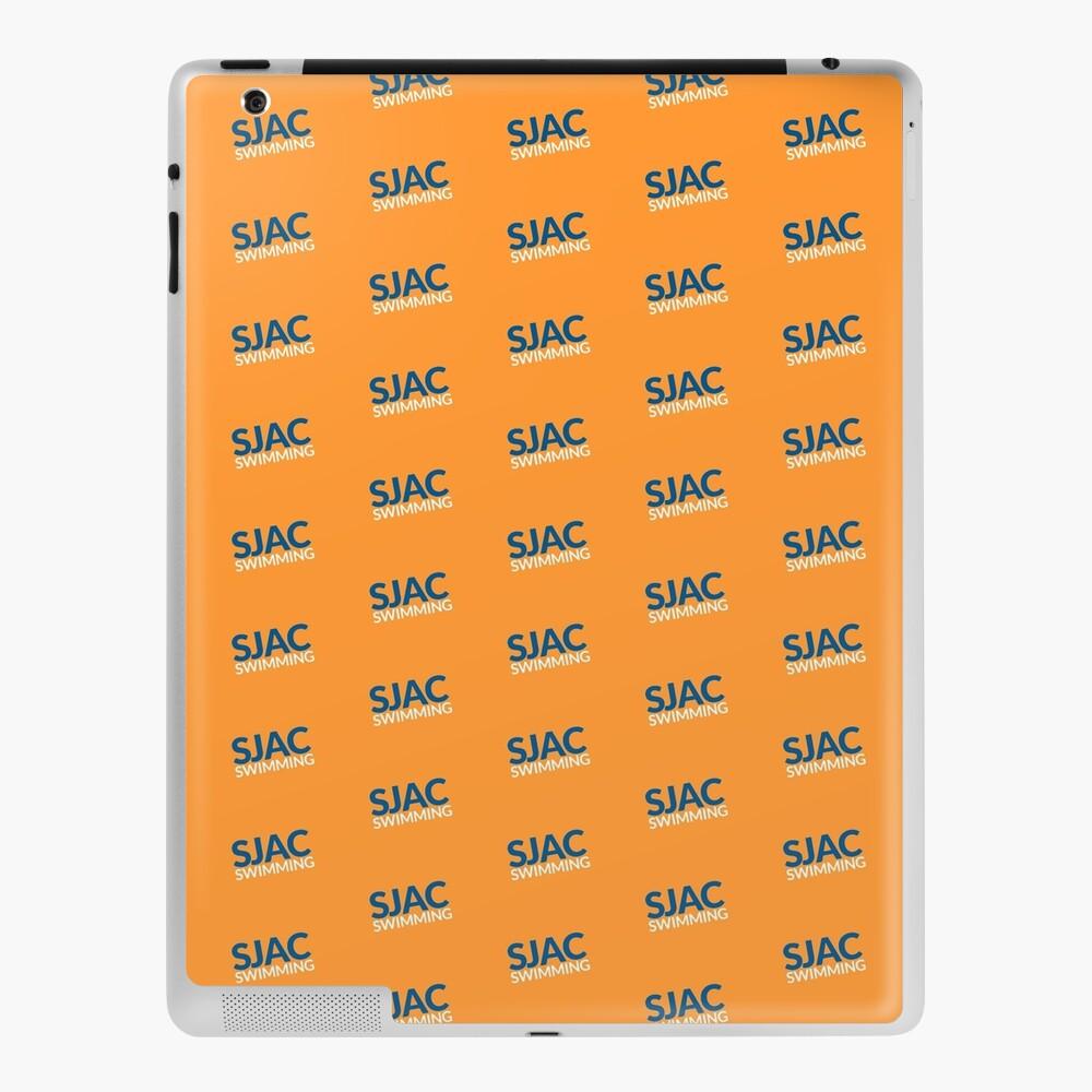 SJAC Pattern Orange iPad Case & Skin