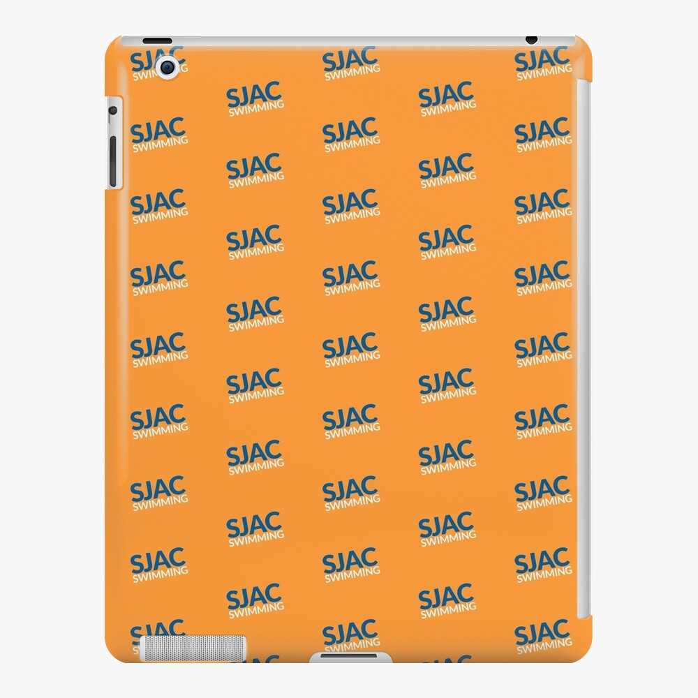 SJAC Pattern Orange iPad Case & Skin
