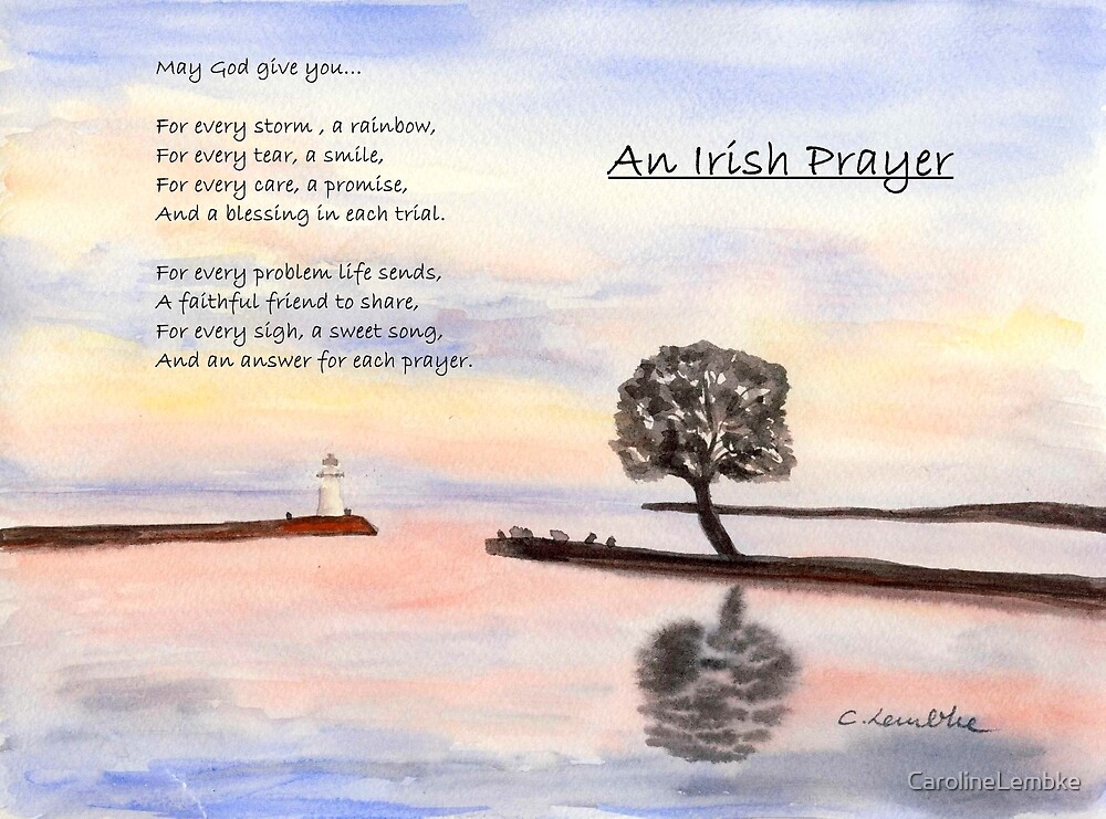 Irish Prayer by CarolineLembke