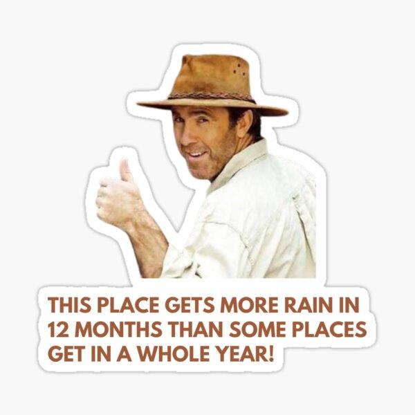 All Aussie Adventures—Russel Coight Quote Sticker