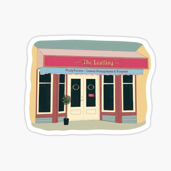 Dani and Jamie's flower shop The Leafling - The Haunting Of Bly Manor  Sticker