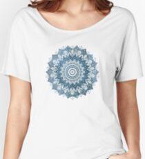 BOHOCHIC MANDALA IN BLUE Women's Relaxed Fit T-Shirt