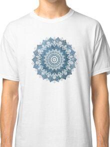 BOHOCHIC MANDALA IN BLUE Classic T-Shirt