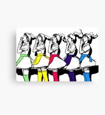 Red Velvet - Dumb Dumb Canvas Print