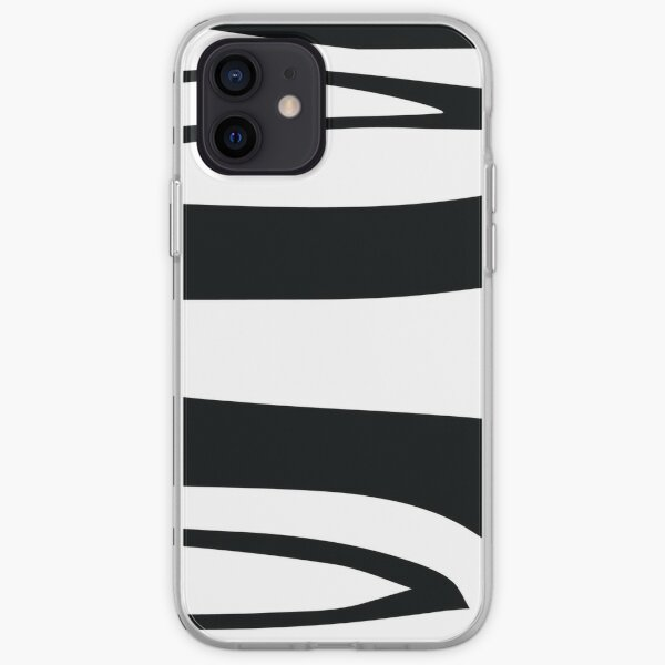 Black and White Stripes iPhone Soft Case