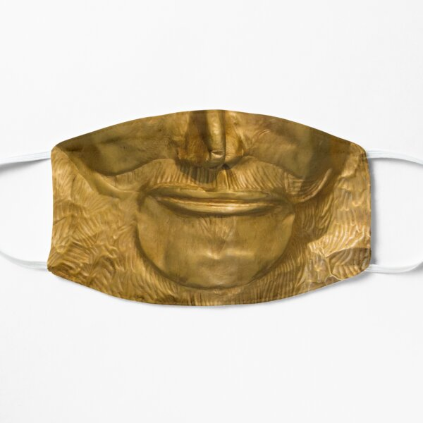 """Nose and mouth of """"Agamemnon"""" Flat Mask"""