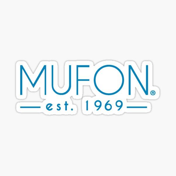 Aqua Mufon Logo Sticker