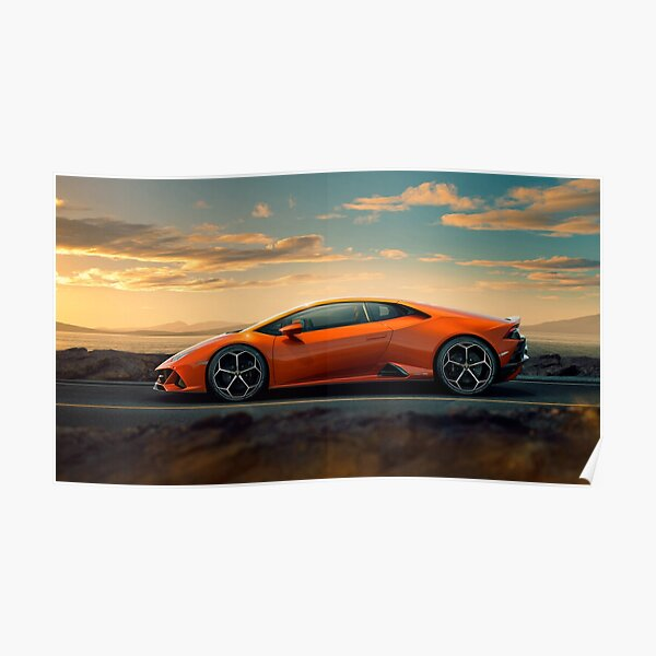 Lamborghini Huracan EVO Poster